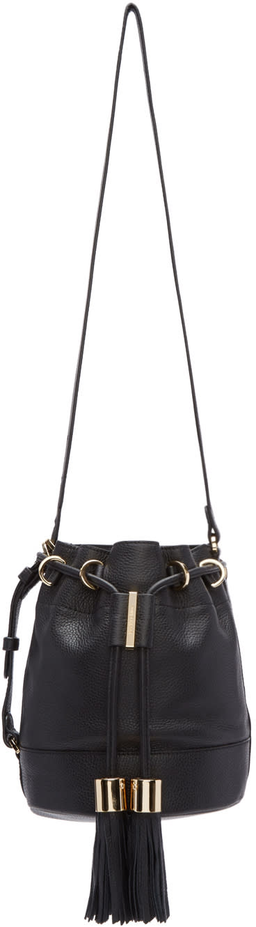 See By Chloe Black Vicki Bucket Bag