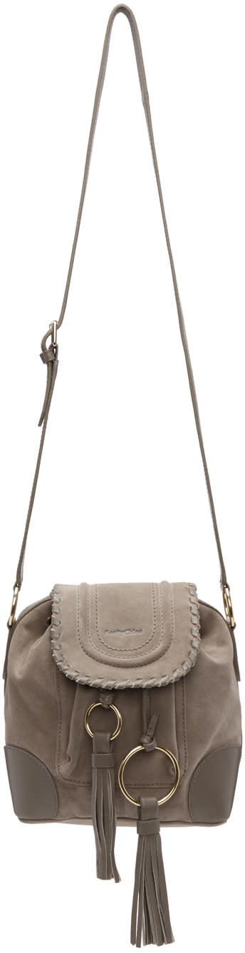 See By Chloe Grey Tassel Bag