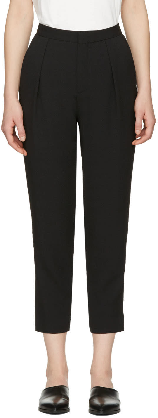 See By Chloe Black Tapered Trousers