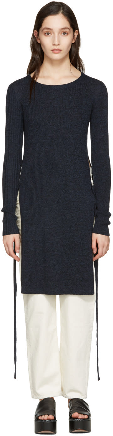 See By Chloe Indigo Wool Sweater