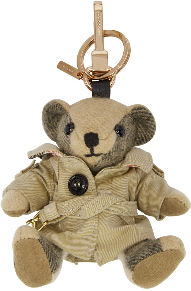 Burberry Tan Trench Coat Thomas Keychain