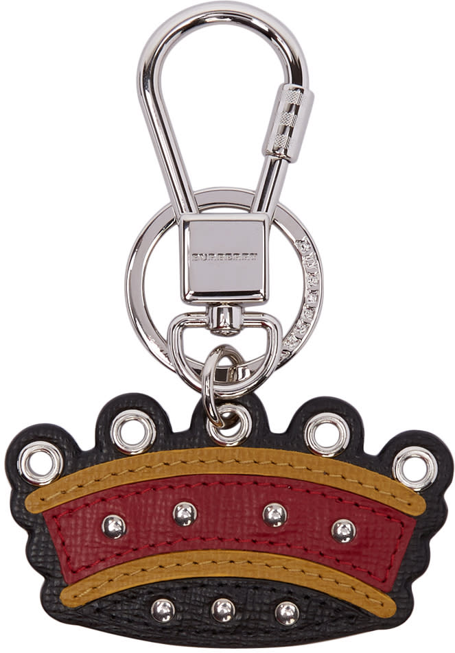 Burberry Multicolor Crown Keychain