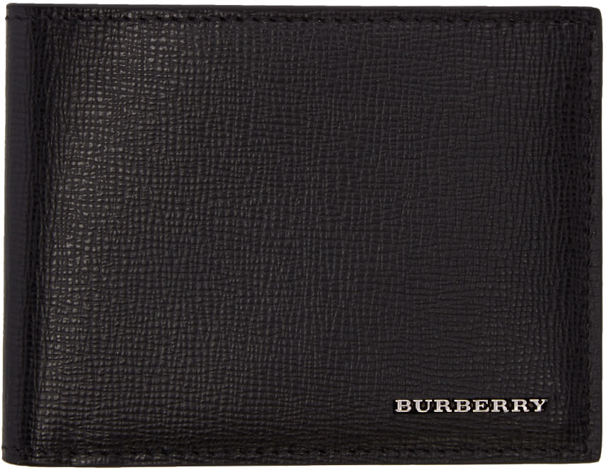 Burberry Black Leather Wallet