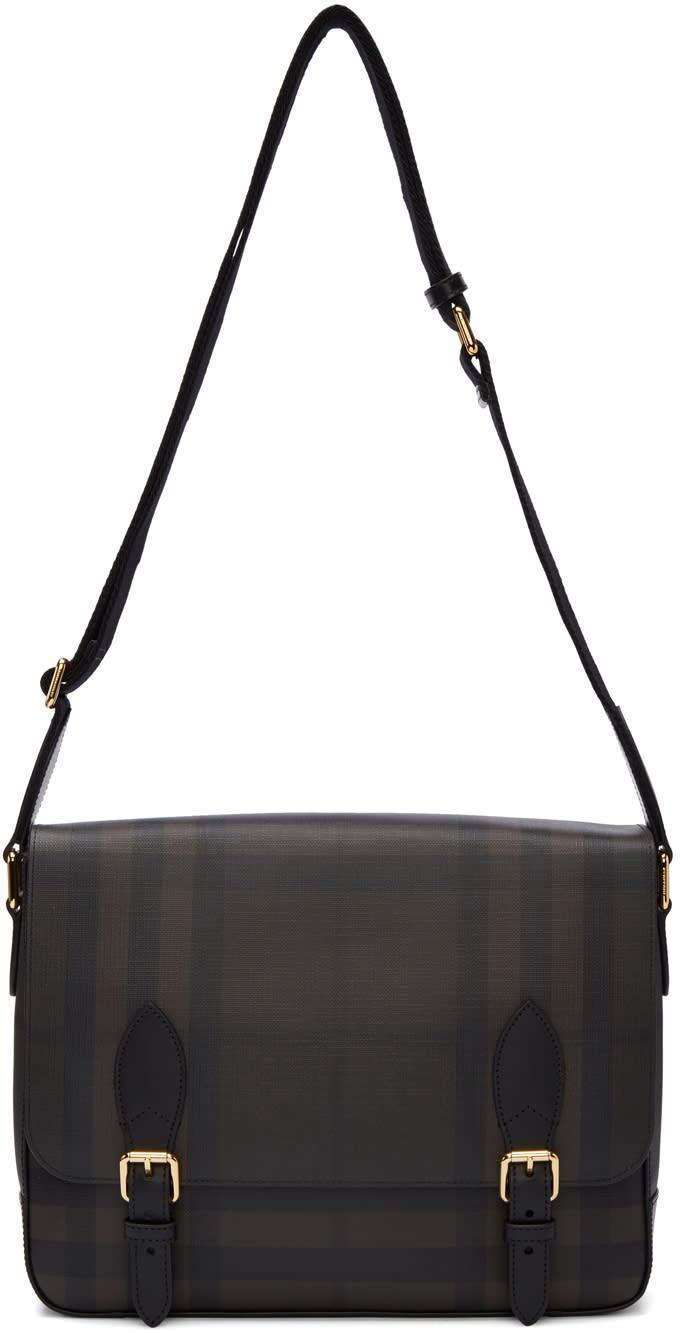 Burberry Brown Hendley Messenger Bag