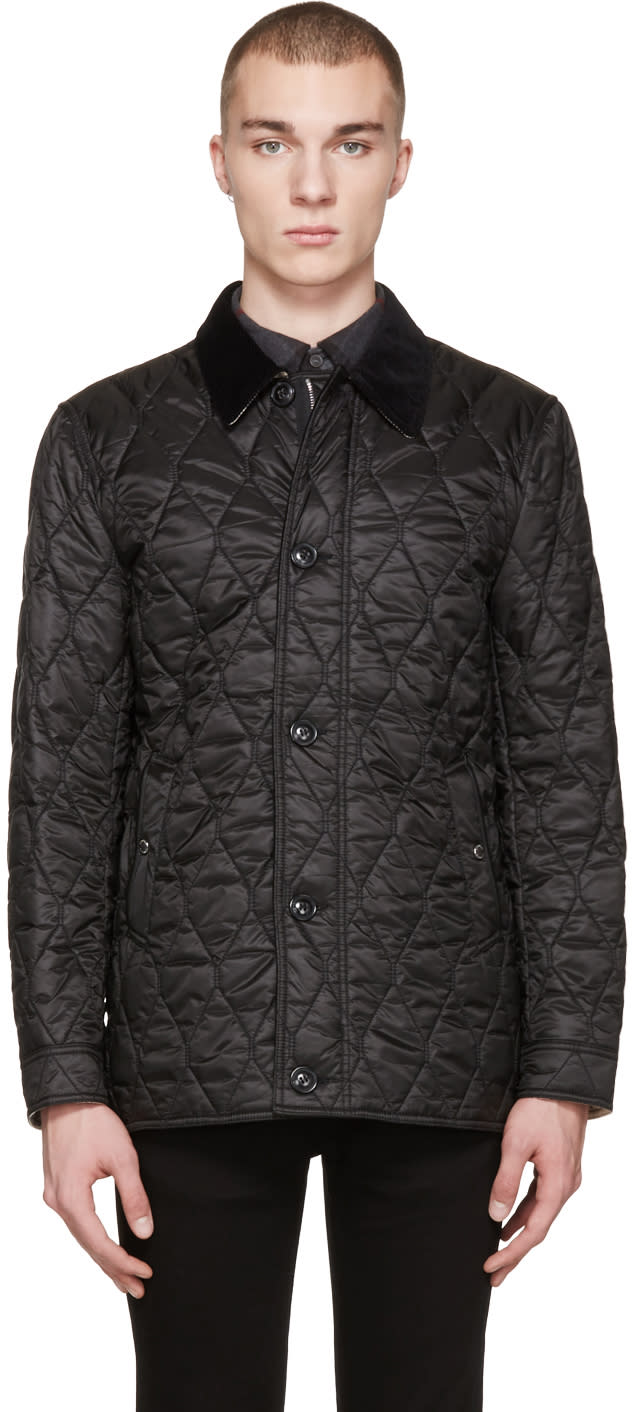 Burberry Black Gransworth Jacket
