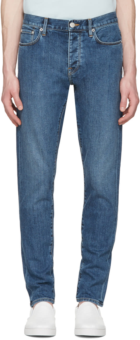 Burberry Indigo Relaxed Tapered Jeans