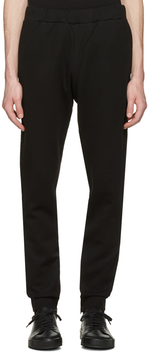 Burberry Black Fulwell Lounge Pants