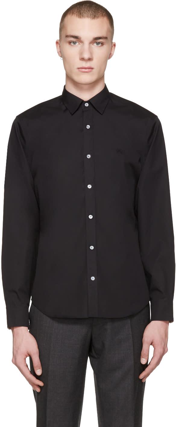 Image of Burberry Black Cambridge Shirt