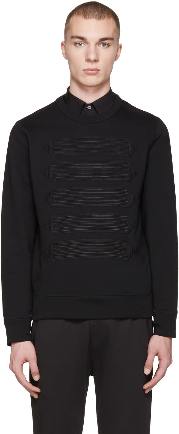 Burberry Navy Atley Pullover