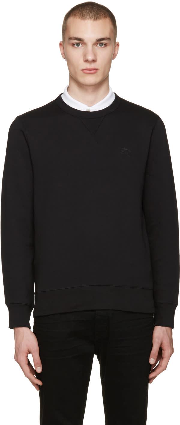 Burberry Black Colesden Pullover