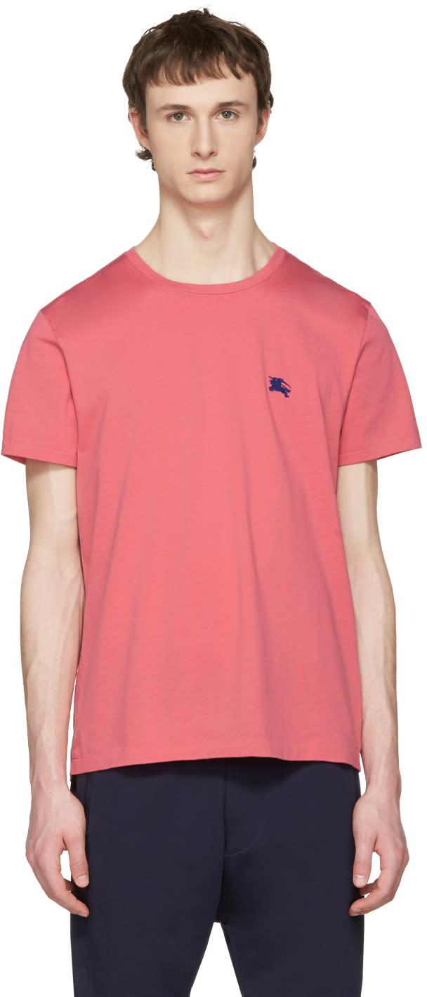 Burberry ピンク タンウォース T シャツ
