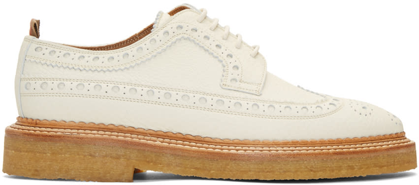 Burberry Off-white Burroughs Brogues
