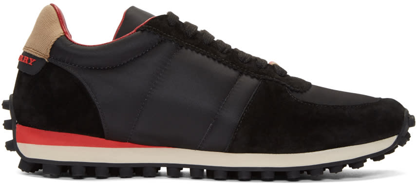 Burberry Black The Track Sneakers