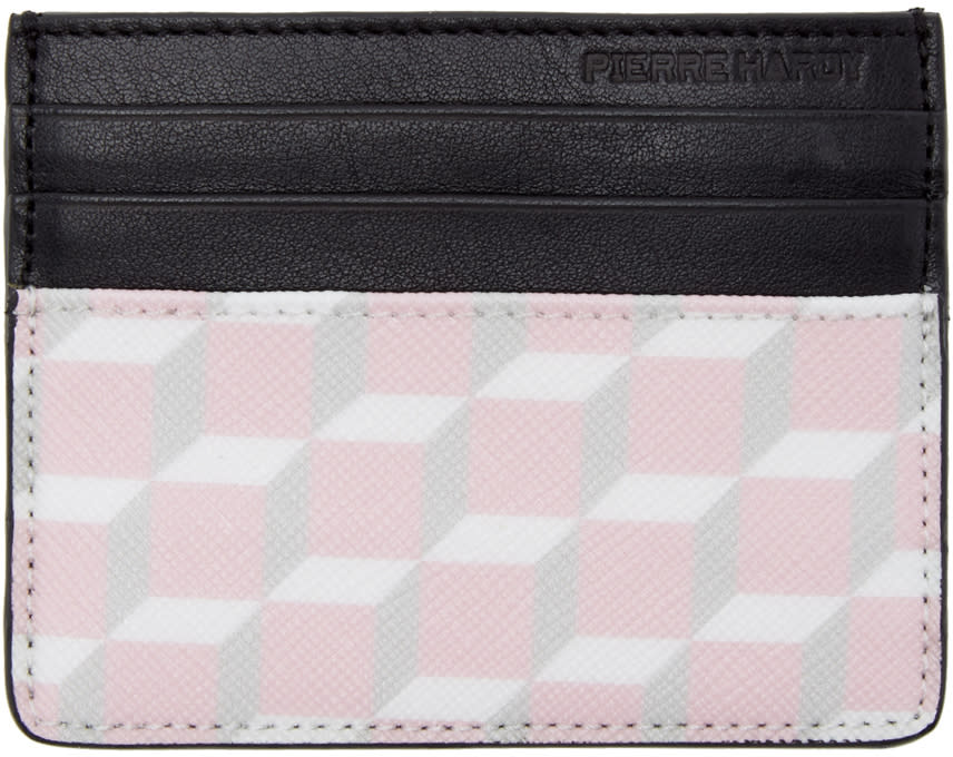 Pierre Hardy Ssense Exclusive Pink Cube Card Holder