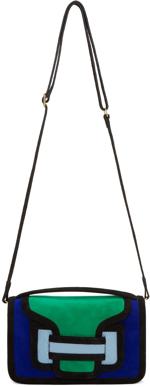 Pierre Hardy Multicolor Suede Alpha Cross Body Bag