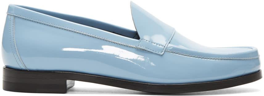 Pierre Hardy Blue Hardy Loafers
