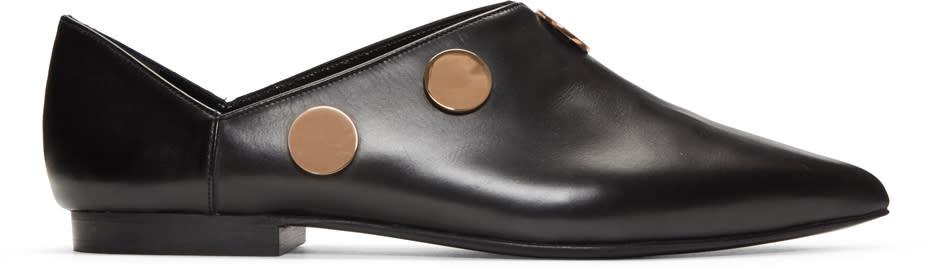 Pierre Hardy Black Penny Loafers