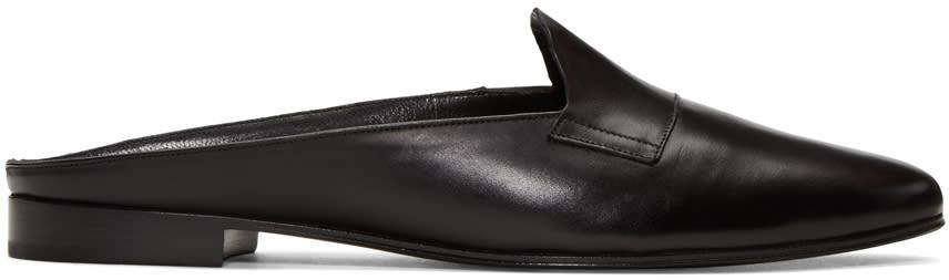 Pierre Hardy Black Jacno Mule Loafers