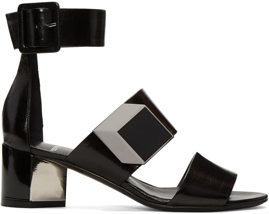 Image of Pierre Hardy Black De Dor Illusion Sandals