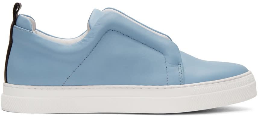 Pierre Hardy Blue Slider Sneakers