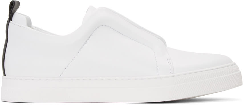 Pierre Hardy White Slider Sneakers