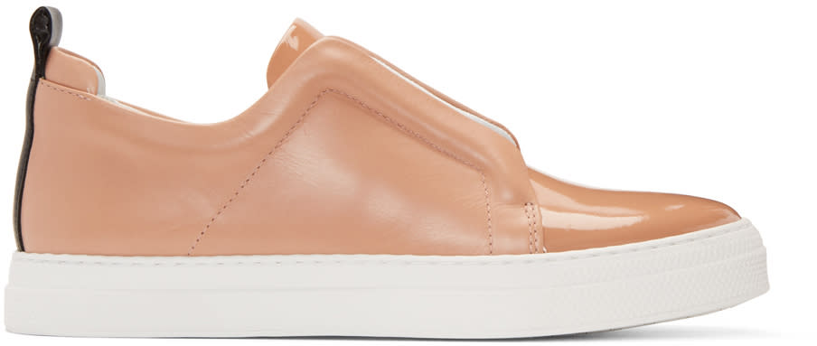 Pierre Hardy Tan Slider Sneakers