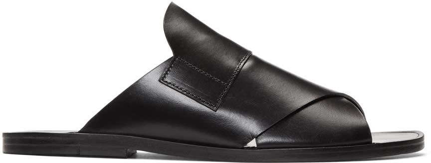 Pierre Hardy Black Lipari Sandals