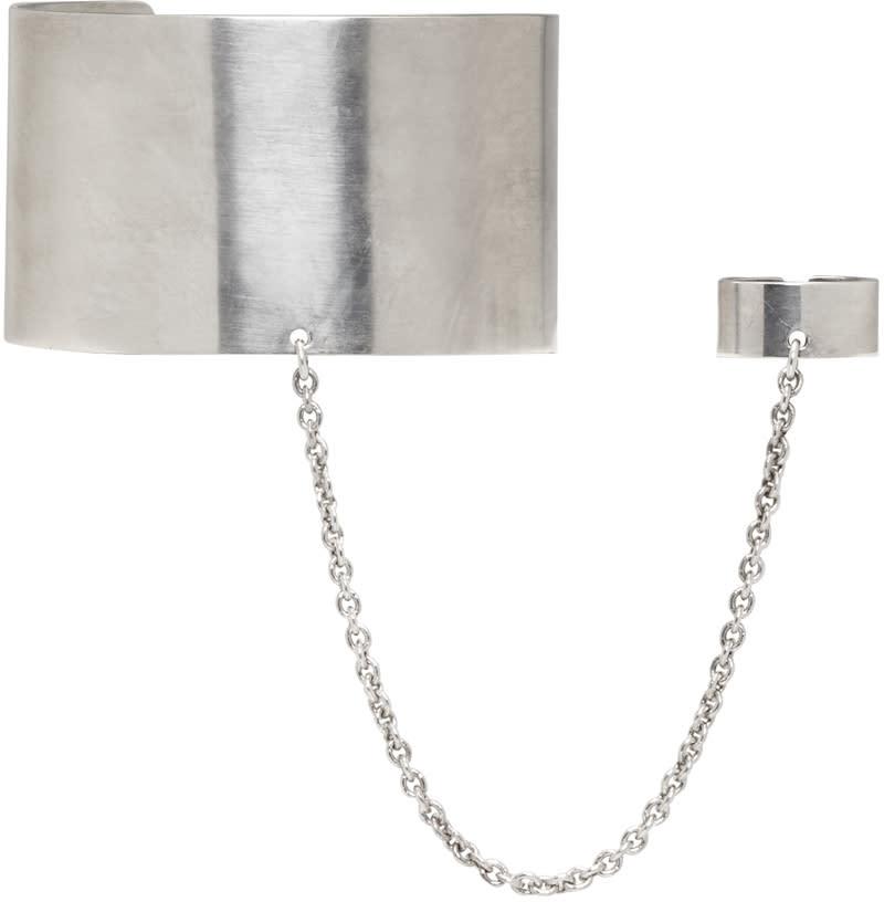 Ann Demeulemeester Silver Ring Cuff