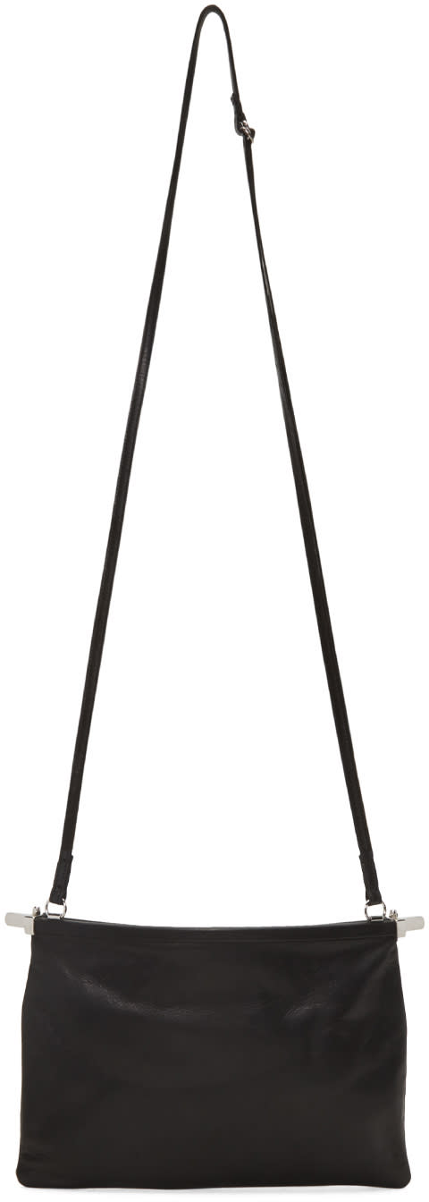 Ann Demeulemeester Black Bended Clasp Wodan Bag