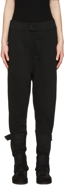Ann Demeulemeester Black Straps Rodger Lounge Pants