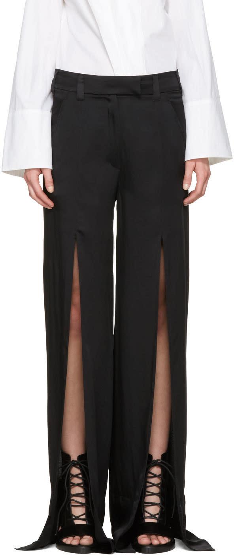 Ann Demeulemeester Black Bissmal Trousers