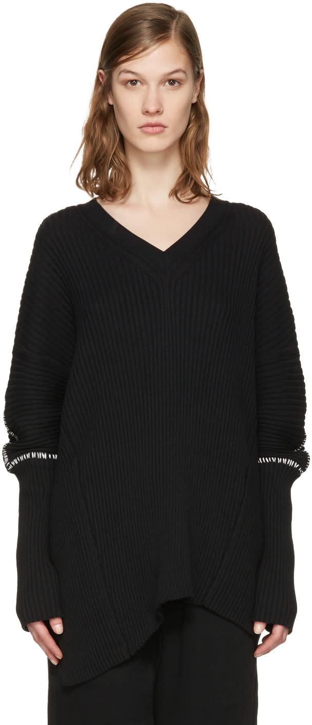 Ann Demeulemeester Black Tuareg Sweater