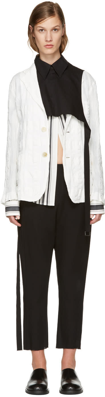 Ann Demeulemeester Black Overpiece Shirt