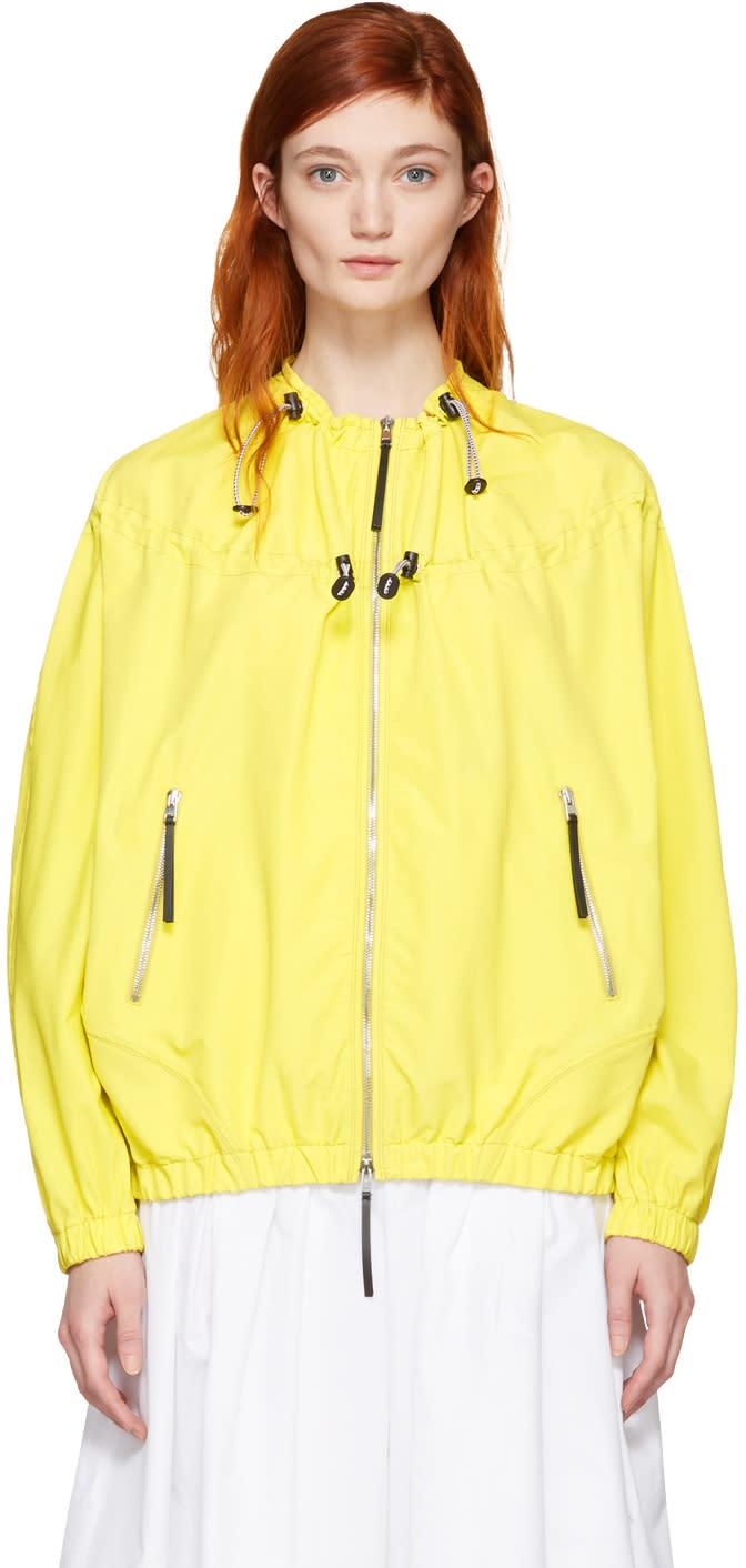 Marni Yellow Taffeta Jacket
