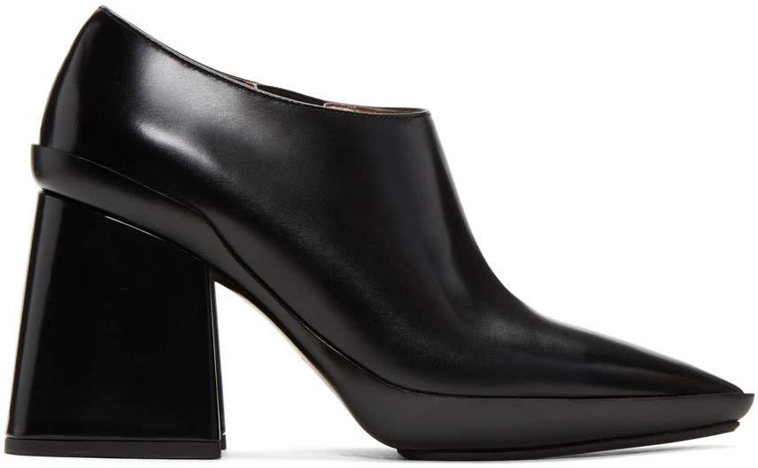 Marni Black Pointed Heels
