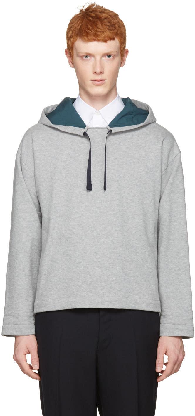 Marni Grey Velcro Hoodie