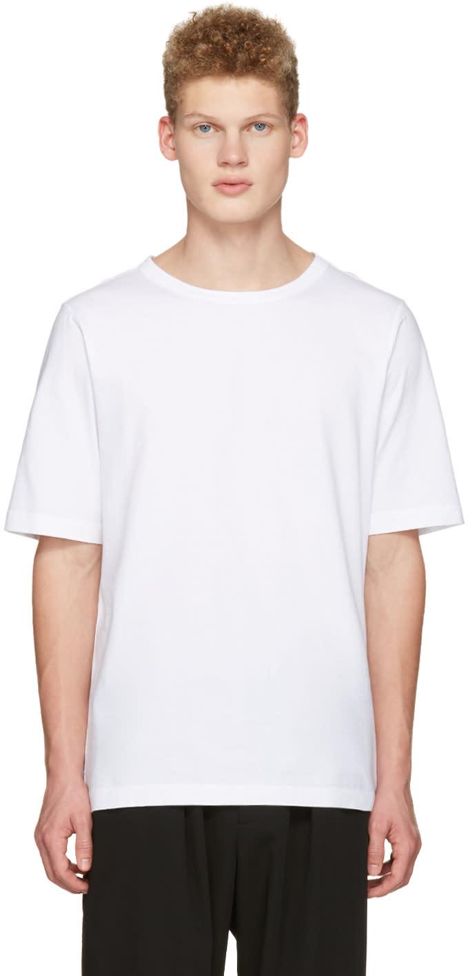 Marni White Lacing T-shirt