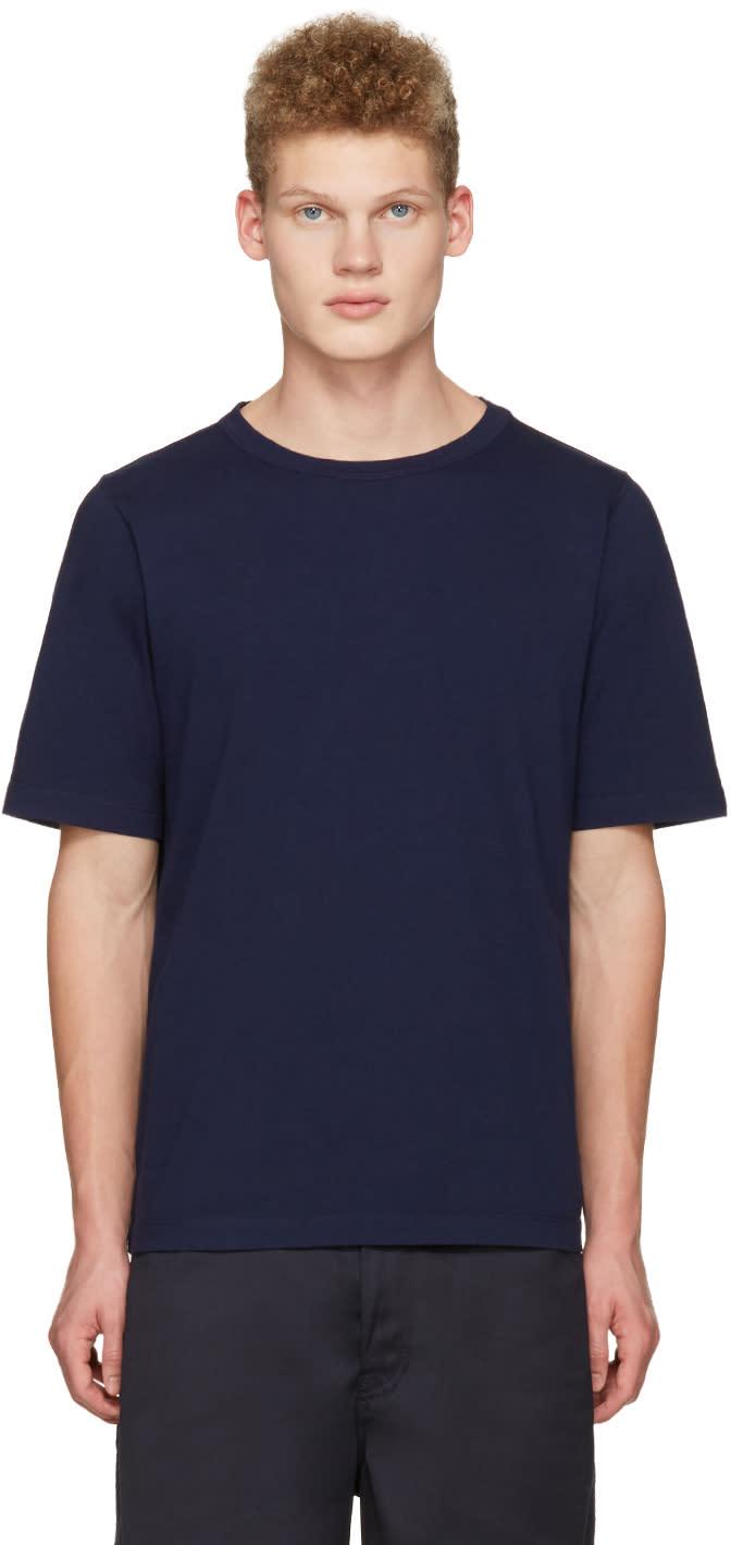 Marni Navy Lacing T-shirt