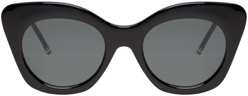 Thom Browne Black Cat-eye Sunglasses