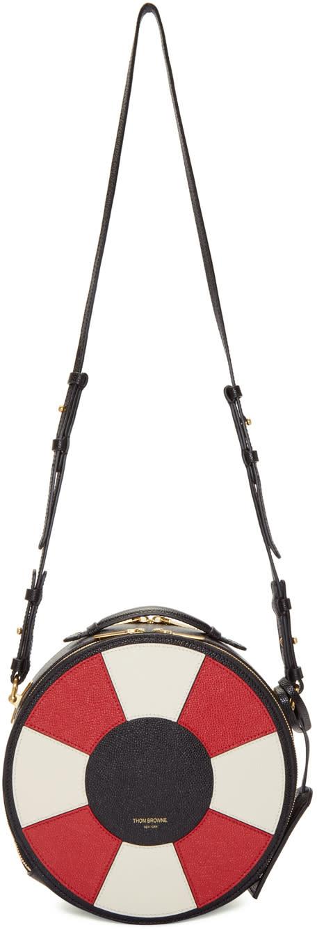 Thom Browne Black Life Preserver Bag