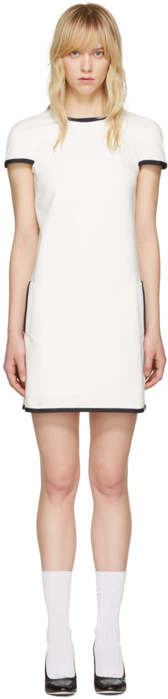 Thom Browne White A-line Shift Dress