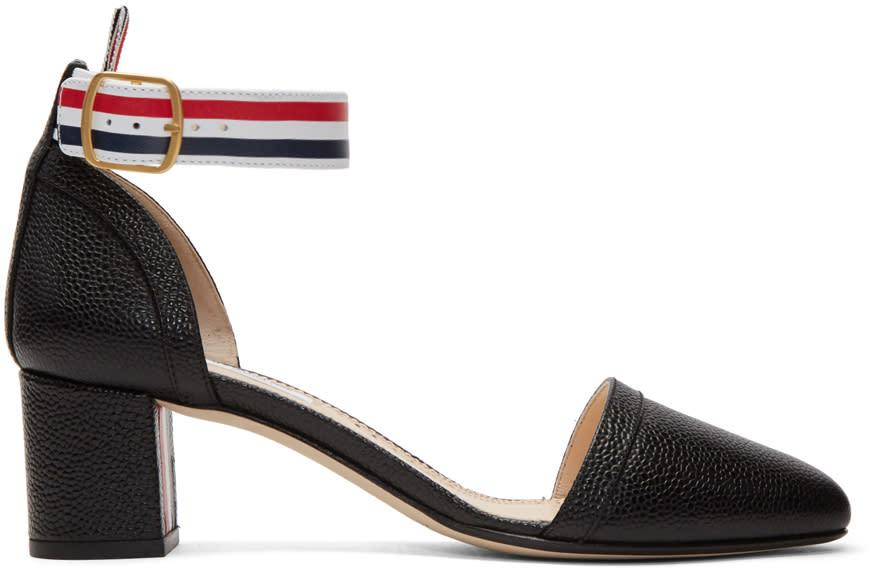 Thom Browne Black Dorsay Heels