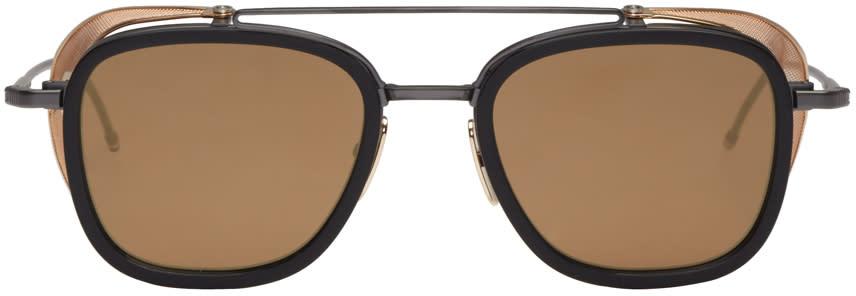 Thom Browne Black Tb 808 Sunglasses