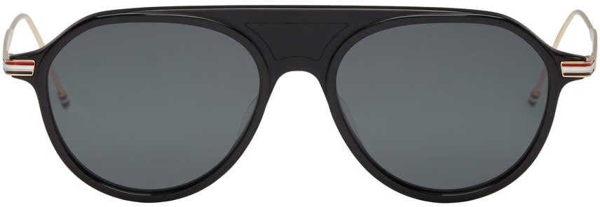 Thom Browne Black Tb 809 Sunglasses