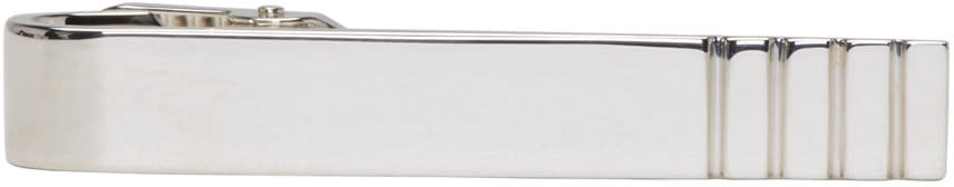 Thom Browne Silver Classic Long Tie Bar