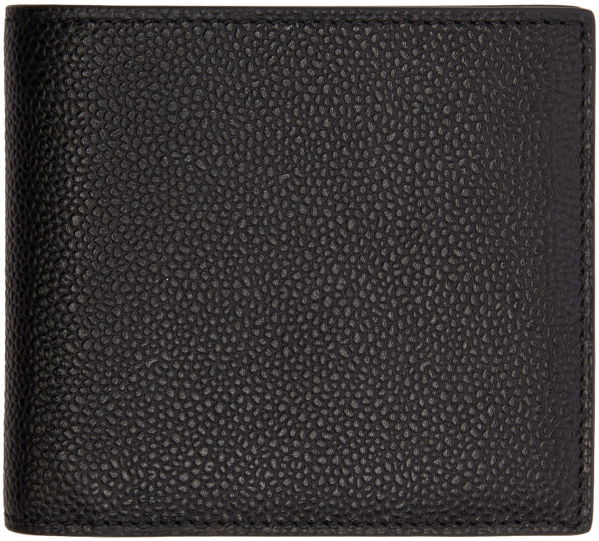 Thom Browne Black Billfold Wallet
