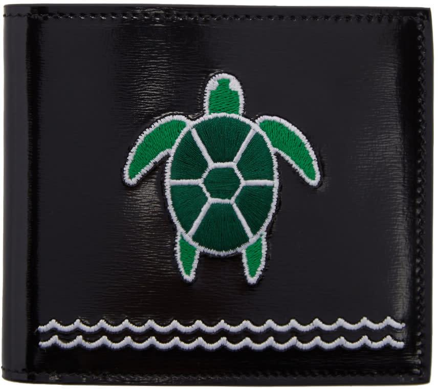 Thom Browne Black Turtle Wallet