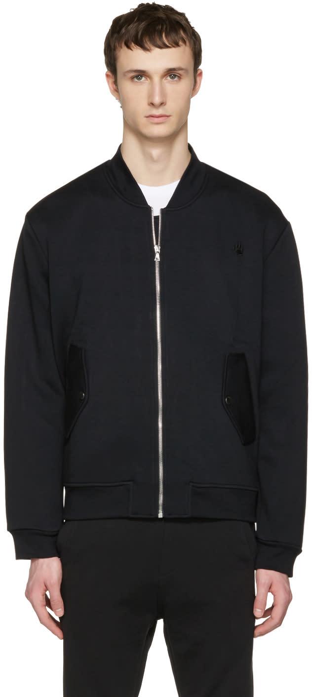 Markus Lupfer Black Neoprene Tiger Jacket