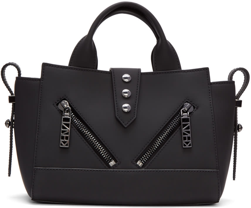 Kenzo Black Embellished Kalifornia Bag