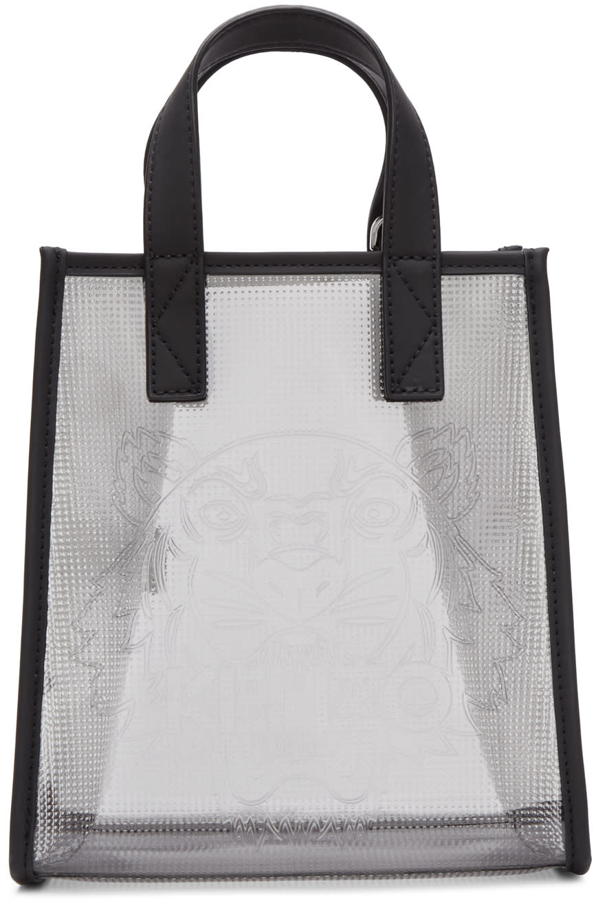 Kenzo Clear East West Tote Bag
